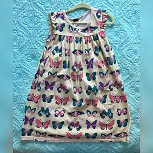 Tea Collection butterfly dress, Size 6